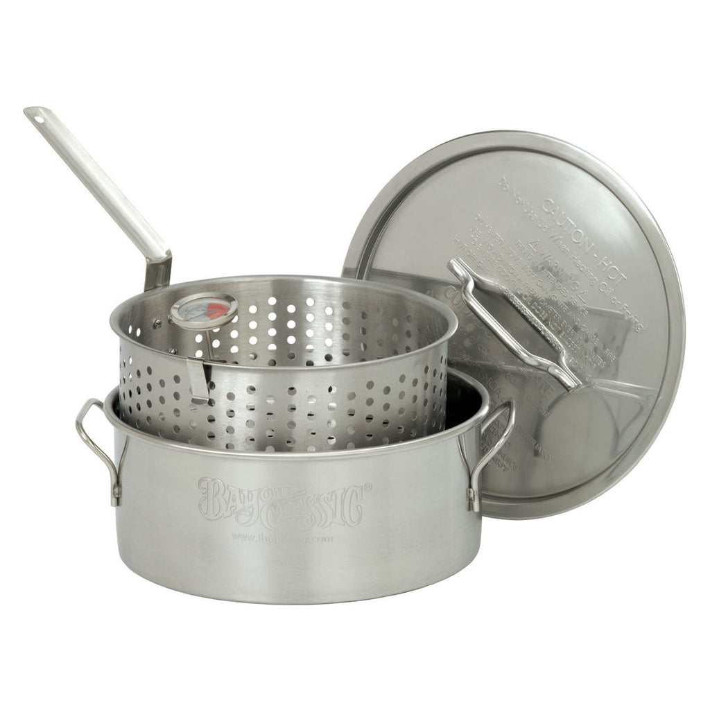 10 Quart Aluminum Deep Fryer Pot