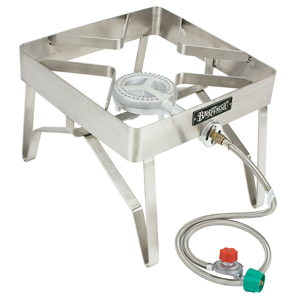 Bayou Classic Stainless Steel Square Propane Burner