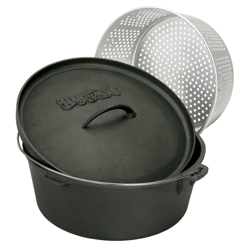 Bayou Classic 8.5 Quart Cast Iron Dutch Oven