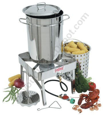 Bayou Classic All Stainless Steel Turkey Fryer Kit