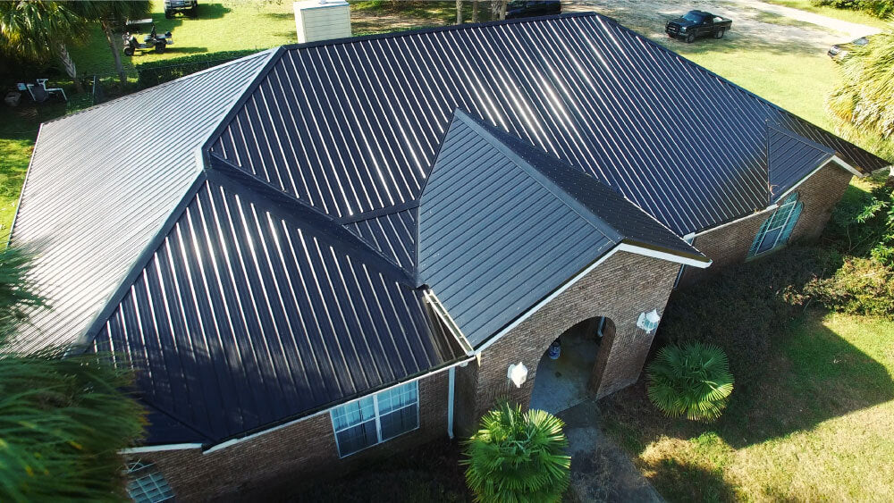 How do I maintain my metal roof?