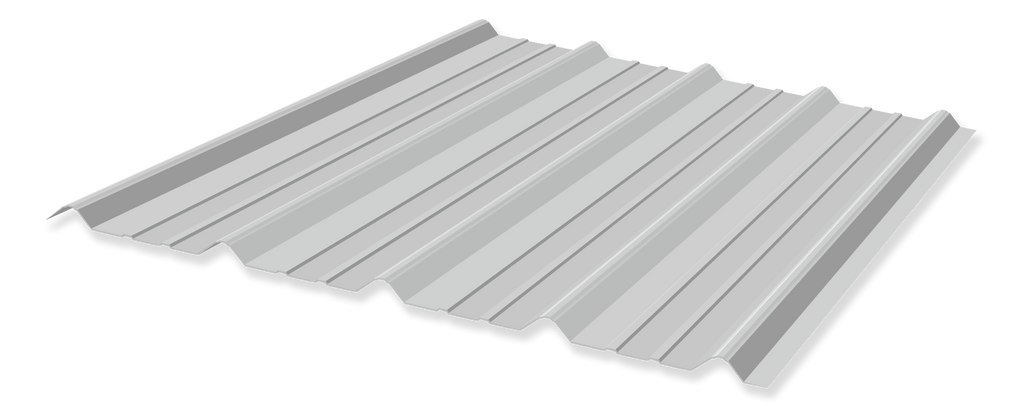 galvalume metal roof panel
