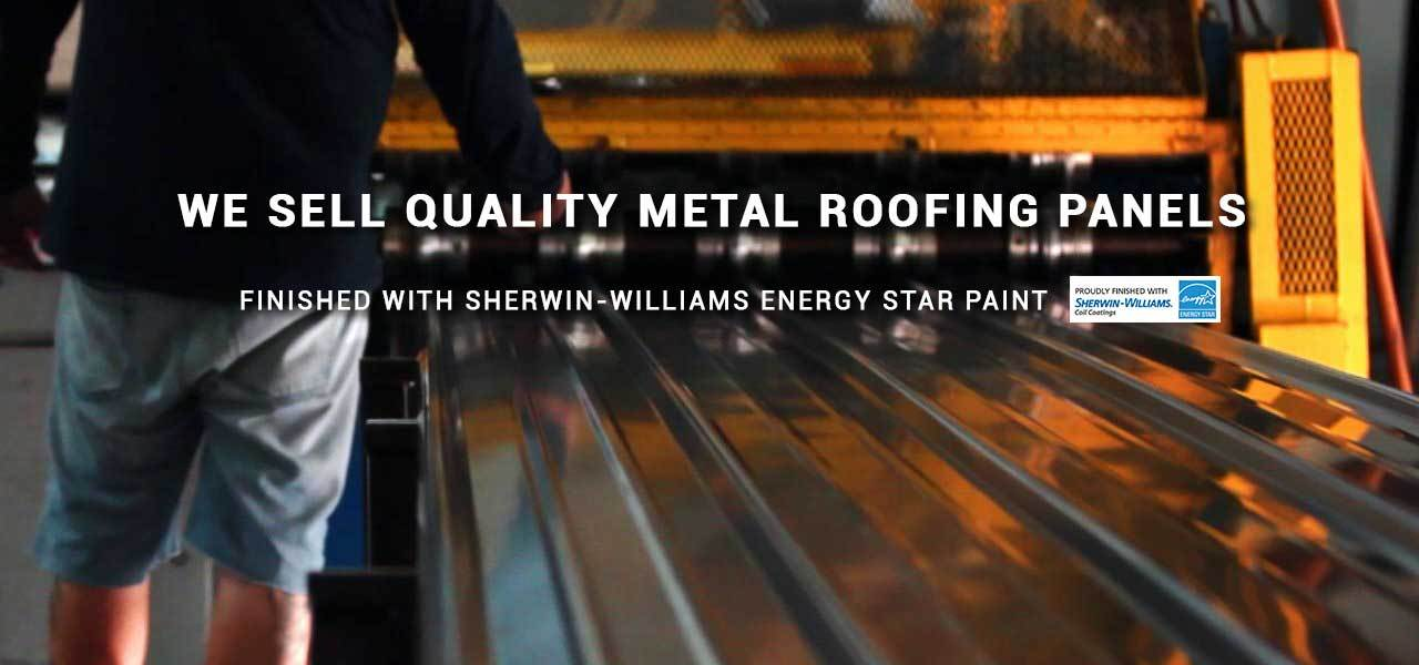 Buy Metal Roofing Direct - Quality Metal Roofing Panels