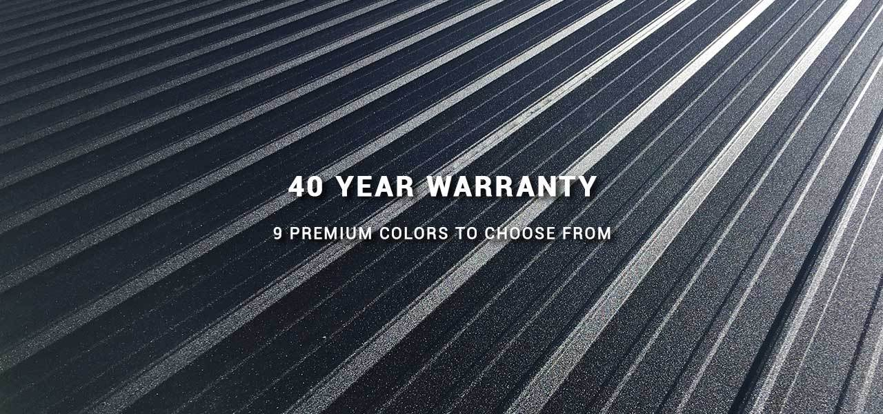 Buy Metal Roofing Direct - 40 Year Warranty