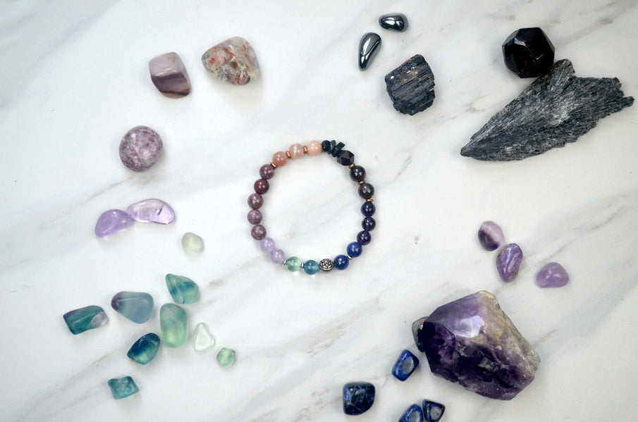 Crystals for the Fall Equinox