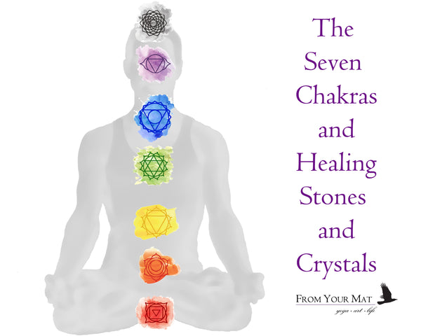 The Seven Chakras and Healing Stones and Crystals