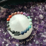 Mercury Made Me Do It Retrograde Survival Bracelet Essential Oil Diffuser