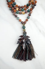 A Bird's Eye View Meditation Mala