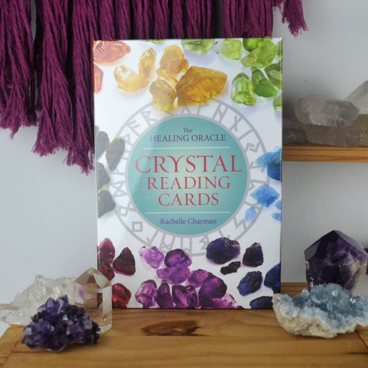 crystal reading oracle deck cards
