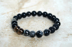 Positive Vibes EMF Protection Bracelet Shungite
