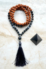 EMF Protection Mala Positive Vibes Shungite