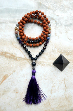 EMF Protection Mala Guidance Shungite