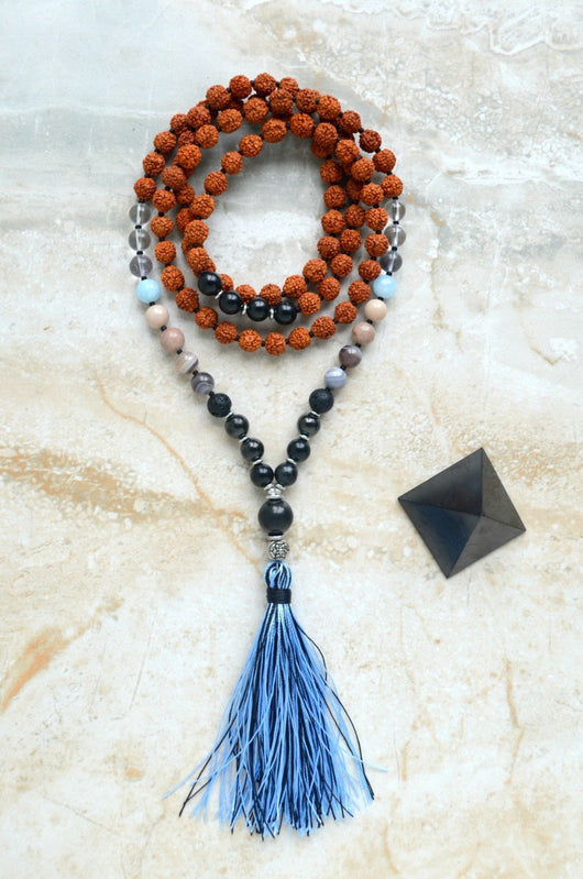 EMF Protection Mala Connection Shungite