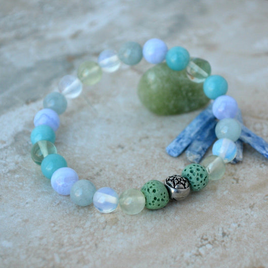 Ease Calm Confidence Essential Oil Diffuser Bracelet