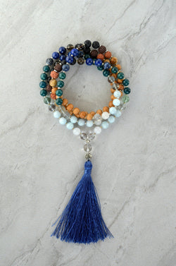 Entire Ocean Water Element Essential Oil Diffuser Mala