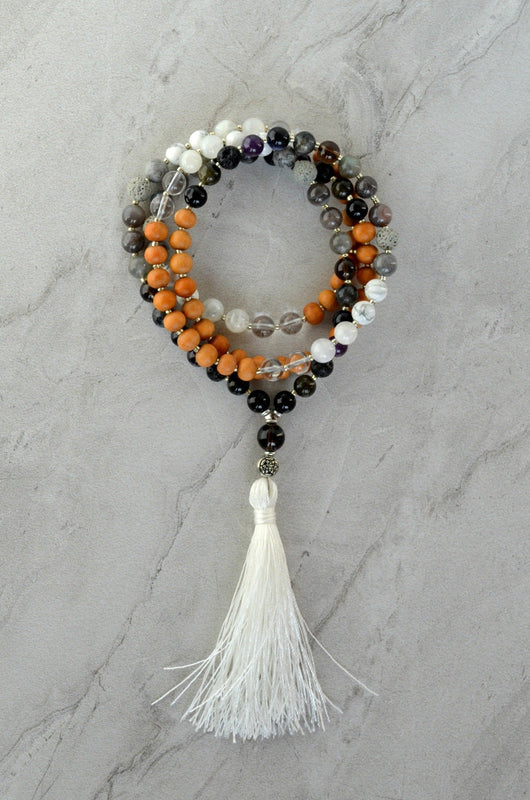 Lady Luna Moon Essential Oil Diffuser Mala
