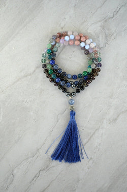 Peace Within Thrive Gemstone Mala