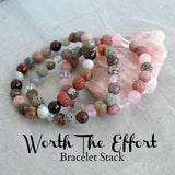 Worth The Effort Bracelet Set