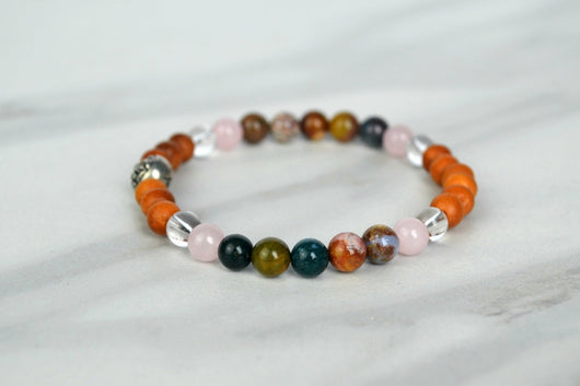 Love, Light + Healing Bracelet