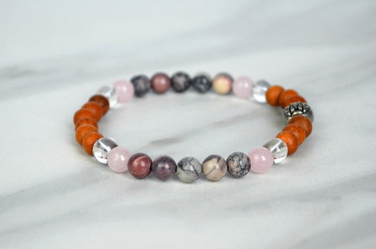 Love, Light + Peace Bracelet