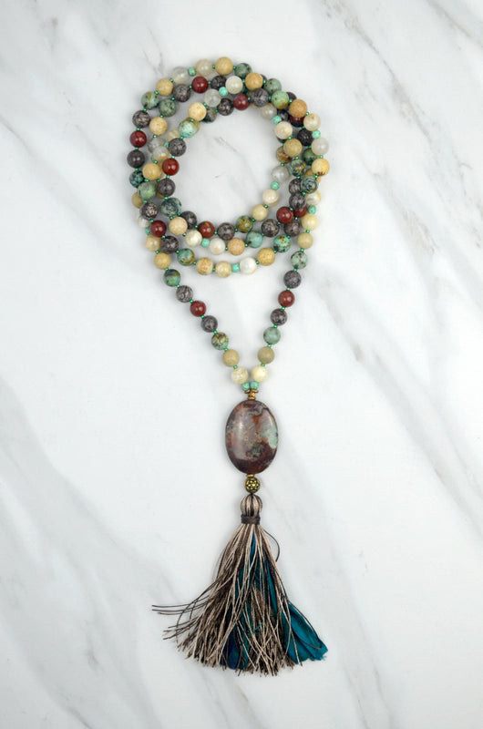 Surrender Within Meditation Mala