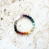 pride rainbow bracelet love is love full chakra