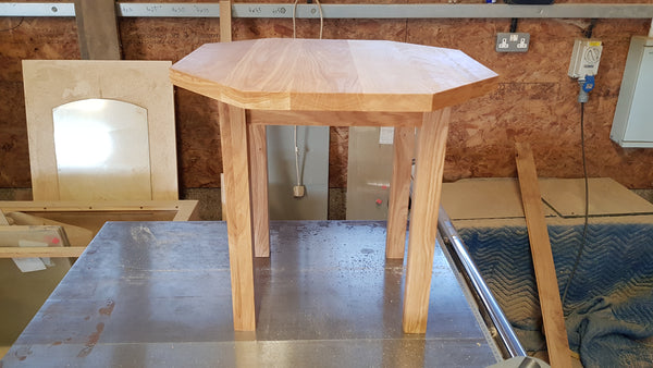 Workshop Discount Special, small solid oak occasional table