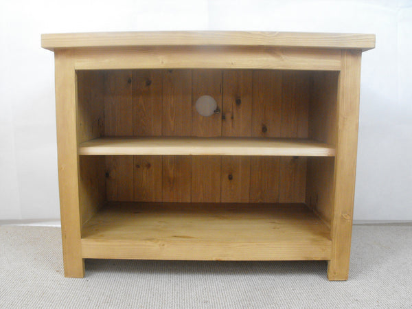 Low height 1400mm Solid Oak TV Unit, Cabinet , Stand or Hifi unit