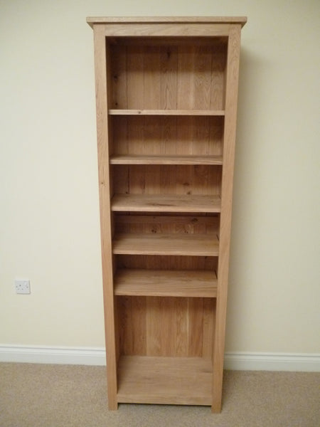 Oak CD/DVD Media storage, ideal for the study, living room or lounge