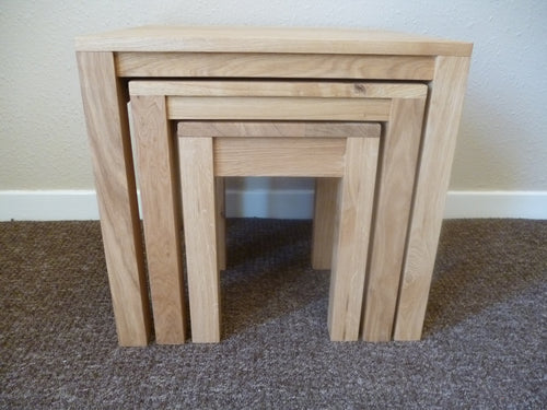 Nest of 2 or 3 tables ideal for the, living room, lounge or bedroom.