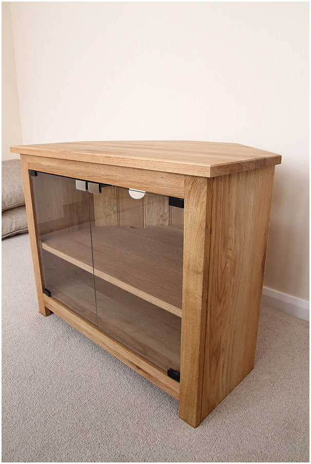 Charmant Corner 1000mm Wide Solid Pine TV Unit, Cabinet , Stand Or Hifi Unit