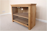 Corner 750mm wide Solid Oak TV Unit, Cabinet , Stand or Hifi unit