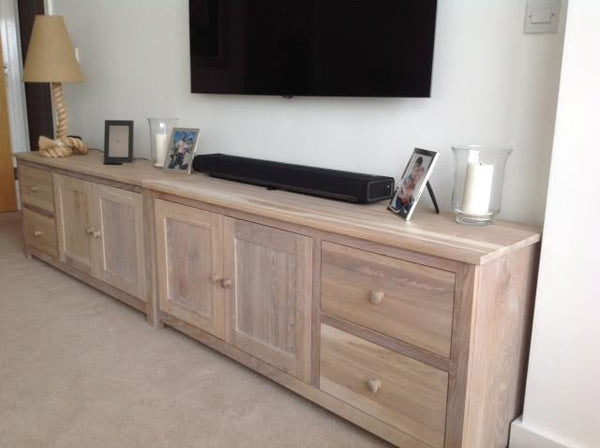 White Oak Cabinets with light white Oak finish