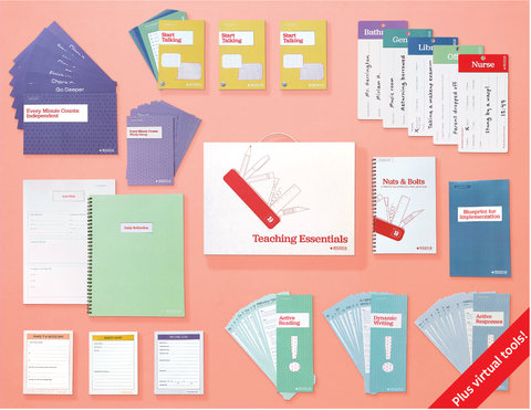 Teaching Essentials Kit (Box of Print and Virtual Tools)
