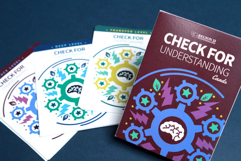 Check for Understanding (Set of Cards)