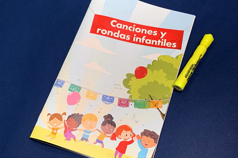 Canciones y rondas infantiles - Student Version (5-Pack Saddle-Stitched Books)