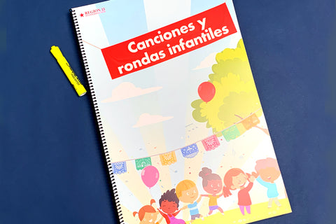 Canciones y rondas infantiles - Teacher Version (Spiral-Bound Big Book)