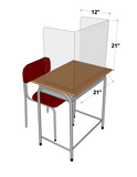 Desk Shields Classroom Pack (Set of 25 Shields)