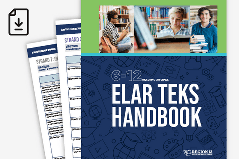 ELAR TEKS Handbook: 6-12 (Downloadable PDF)