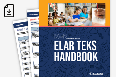 ELAR TEKS Handbook: K-5 (Downloadable PDF)