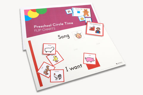 Early Childhood Circle Time Flip Charts (Set of Posters)