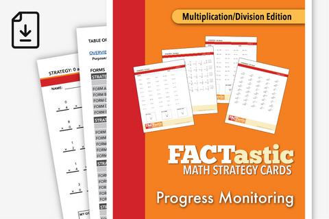 FACTastic Math Progress Monitoring: Multiplication/Division (Downloadable PDF)