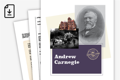 History Lab: Andrew Carnegie (Downloadable PDF)