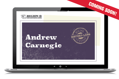 History Lab: Andrew Carnegie (Online Course)