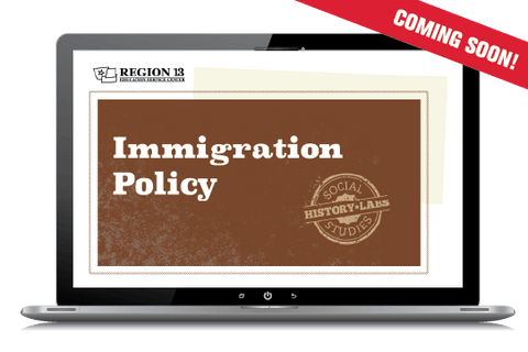 History Lab: US Immigration Policy History (Online Course)