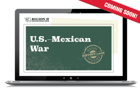 History Lab: US-Mexican War (Online Course)