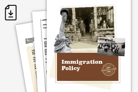History Lab: US Immigration Policy History (Downloadable PDF)