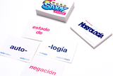 Spanish Word Study Cards - Phonetics and Morphology (Set of Cards)