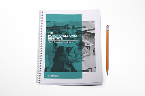 The Paraprofessional Institute Guidebook (Spiral-Bound)