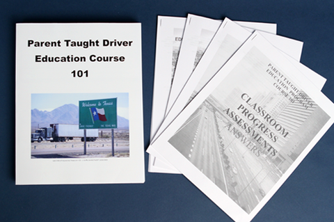 Parent Taught Driver Education Course 101: Modules 1-13 (Paperback)